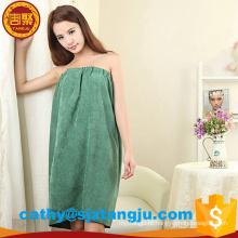 Toalhas de toalha macias super do banho do hotel, vestido de toalha de banho de Microfiber