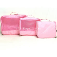 5 Pieces Set Wash Bag com grande espaço