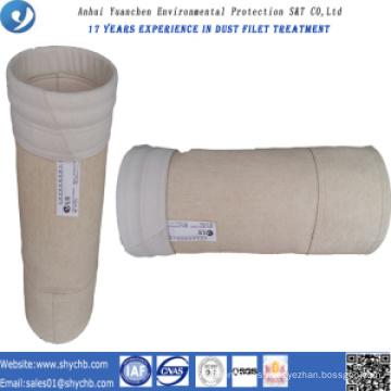 Bolsa de filtro de polvo de aramida para planta de energía de carbón con muestra gratis