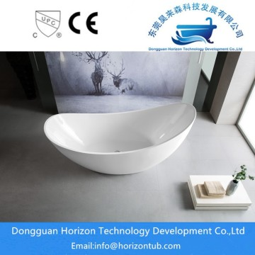 Acrylic freestanding shoe bathtub