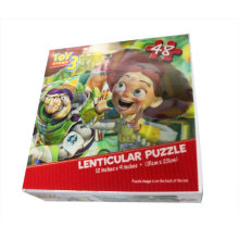 2015 lindo lenticular 3D para niños