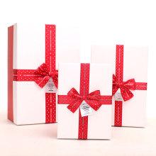 Toutes les tailles fantaisie cadeau emballage boîte papier cadeau boîte impression