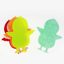 Felt chicks for Easter