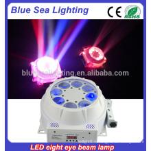 8x3w led beam moving head light для сцены, луч света