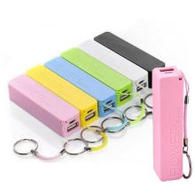 Christmas Promotional Gift 2600mAh Lipstick Power Bank