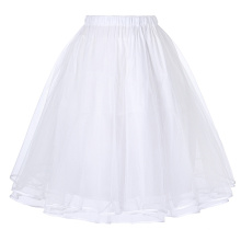 Belle Poque Women's Luxury Retro Dress Vintage Dress 3 Layers Tulle Netting Crinoline Underskirt Petticoat BP000229-2