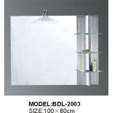5mm Thickness Bathroom Silver Glass Mirror (BDL-2003)