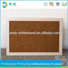 Suspensão de cortiça bordo mini placas de cortiça pendurado bordo macio