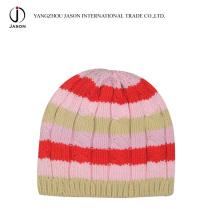 Chapéu acrílico de malha Acrílico Knitted Toque Acrílico Malha Beanie Inverno Acrílico Kintted Chapéu Toque Acrílico Moda Hat