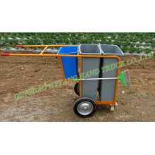 sanitation vehicle cleaning dust cart garbage truck wheelbarrow WB9904