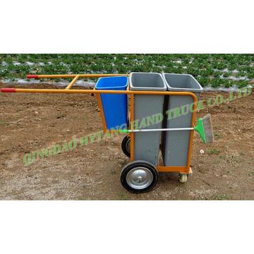 veículo de saneamento limpeza carrinho de caminhão de lixo de carrinho de poeira WB9904