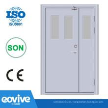 puerta de madera fabricante y madera puerta cortafuego