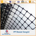 Road Construction PP Biaxial Geogrid 30knx30kn