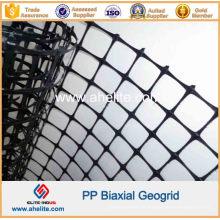 Construction de route PP géogrille biaxiale 30knx30kn