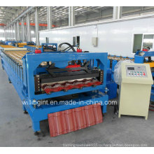 Профилегибочная машина для производства листовой черепицы, Китай