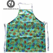 Wholesale Polyester Cotton Colorful Waterproof Beetles Printing Apron