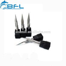 Режущие инструменты скашивания BFL-карбида вольфрама / твердосплавные подгонянные Endmill фаски