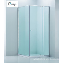 Adjustable Bathroom Shower Enclosure/Square Semi-Frameless Shower Cabin (CVP025-1)