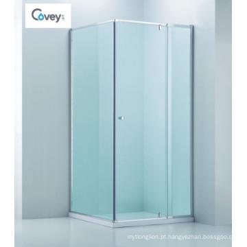 Banheiro de banheiro ajustável / Cabine de duche quadrada sem molas (CVP025-1)