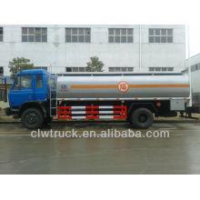 8 toneladas Dongfeng 145 10000 litros combustível caminhão, caminhão tanque de combustível