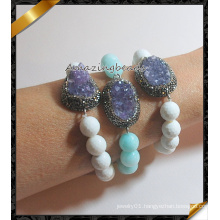2016 New Wholesale Fashion Druzy Bracelets, Stone Jewelry Bracelet (CB020)