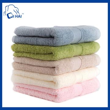 Ägyptische Baumwolle feste Garn gefärbte Gesicht Handtuch (QH9007901)