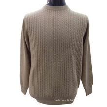 Le dernier pull de dames de conception, chandail de pull en tricot de cachemire