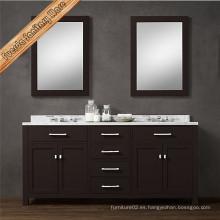 Fed-1986b al por mayor gabinete de baño moderno con espejo