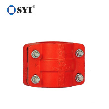 Round Type Carbon Steel Metal Hose Clamp Saddle Pipe Clamp for Tube Connector