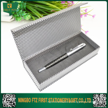 Conjunto de canetas de presente de metal elegante e bonito para senhora