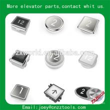 B13P4 peças elevador botão / elevador botão painel / kone elevador botão