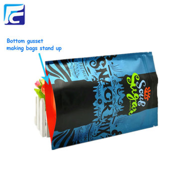 Foil stand up ziplock bag for candy packing