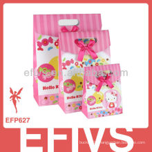 2013 Lovely Hello Kitty gift wrapping bag made in China