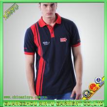 Art und Weise Gewohnheit 100% Baumwollstickerei Mens Polo Shirt