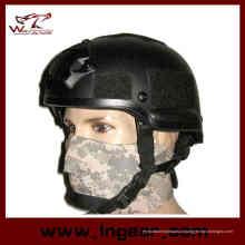Capacete de militares de 2002 Mich com Nvg Mount & lado trilho capacete de segurança