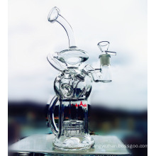 2016 New Arrival Recycle Birdcage Prec Borosilicate Glass Water Pipe