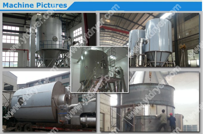 Pigment Dyestuff Spray Dryer