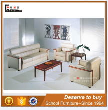 2016 modern hotel lobby sofa,classic wood frame leather sofa