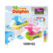 B/O Universal Skateboard Dolphin with Light&Music (1009102)