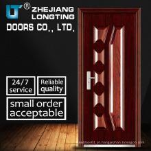 Portas de aço estilo Elegent de alta qualidade e exportação padrão
