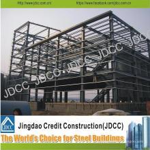 Edificio de estructura de acero ligero de bajo costo