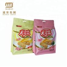 Kundenspezifische gedruckte biologisch abbaubare Nahrungsmittelgrad-Plätzchen-Aluminiumfolie-Verpacken Mylar-Ziplock-Plastiktaschen mit Eurohole