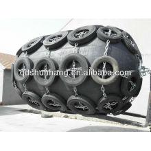 Shunhang marca No.1 calidad neumática defensa marina de goma