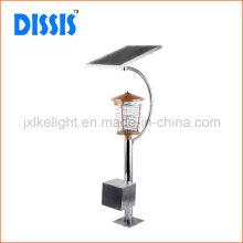 Solar-Edelstahl-Bauernhof-Fliegen-Mörder-Lampe