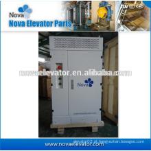 Componentes elétricos do elevador, VVVF que controla a cabine, sistema de controlo do elevador