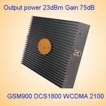 900/1800 / 2100MHz GSM Dcs 3G amplificador de señal de uso doméstico repetidor St-9182