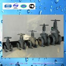 Válvula de compuerta de hierro fundido Únete a la cadena