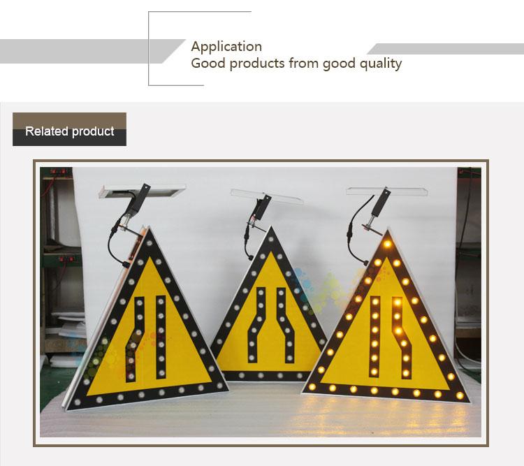 Aluminum Solar Traffic Sign Board_10