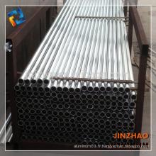 Tube en aluminium extrudé en alliage 6063 avec un mur mince
