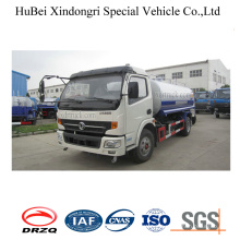 9ton 8cbm Dongfeng Euro 3 Selft Suction Water Tank Sprinkler Truck